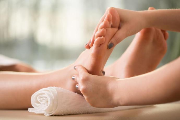 Cơ thể khoẻ mạnh từ đôi bàn chân