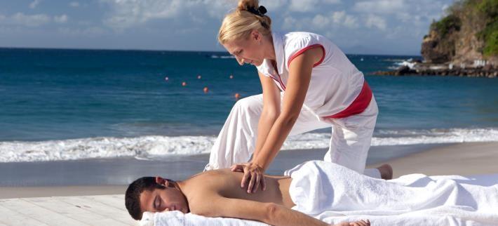 Dùng lực toàn thân trong massage, bấm huyệt