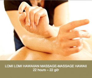 dao tao spa - bs Hai - lomi lomi hawaii massage